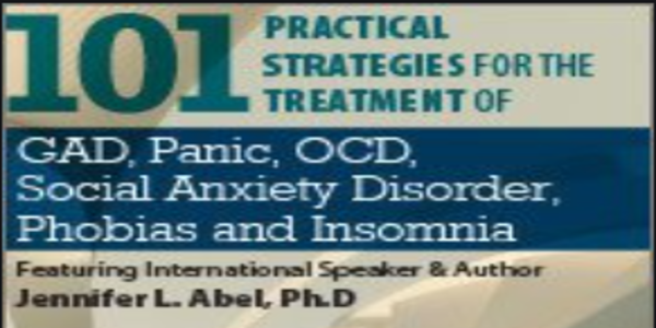 $119. 101 Practical Strategies for the Treatment of GAD, Panic, OCD, Social Anxiety Disorder, Phobias and Insomnia - Jennifer L. Abel