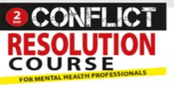 2-Day Conflict Resolution Certificate Course for Mental Health Professionals - Alan Godwin