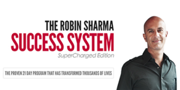 $70. 21 Day Success System Super Charged Edition (with OTO) - Robin Sharma