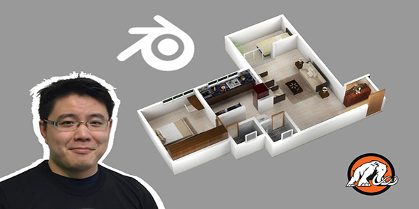 3D House Design in Blender Make Low Poly Art for Unity! - Mammoth Interactive