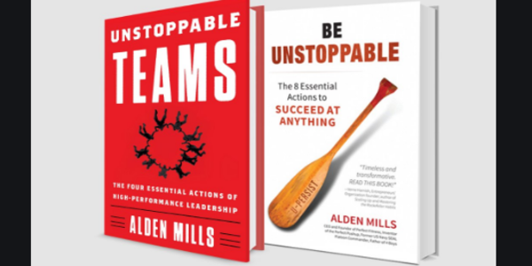 15$. Be Unstoppable The Eight Essential Actions to Succeed at Anything - Alden M. Mills