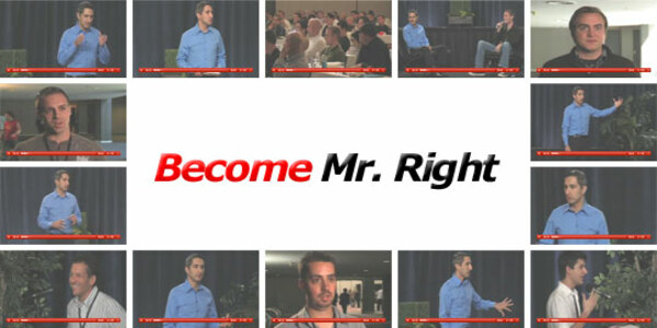 26$. Become Mr. Right – David DeAngelo