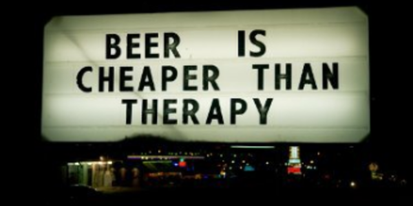 25$. Beer Is Cheaper Than Therapy – Zeppers