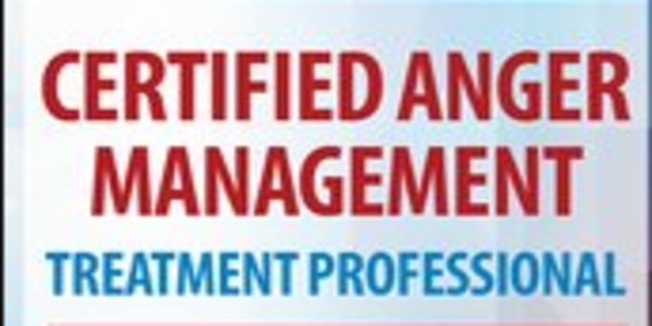 118$. Certified Anger Management Treatment Professional 2-Day Certification Course - Jeff Peterson