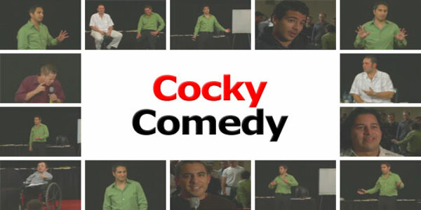 24$. Cocky Comedy – David DeAngelo