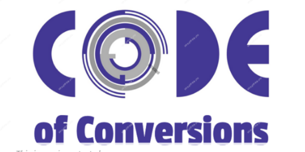 165$. Code of Conversions – Chris Rocheleau