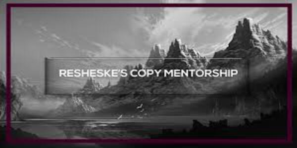 137$. Copywriting Mentorship Program – Lukas Resheske