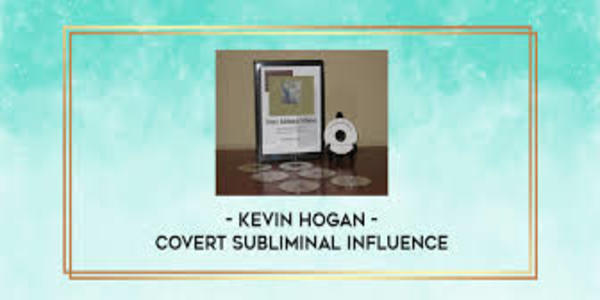 23$. Covert Subliminal Influence by Kevin Hogan (1)