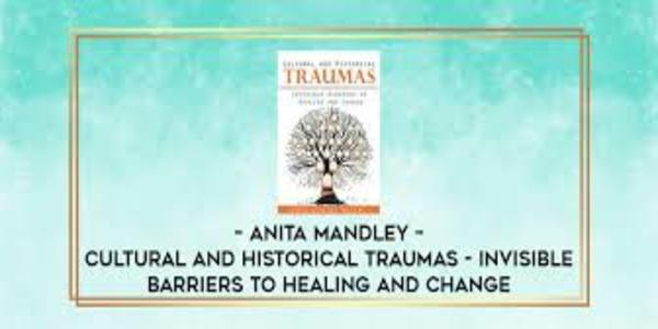 27$. Cultural and Historical Traumas Invisible Barriers to Healing and Change - Anita Mandley