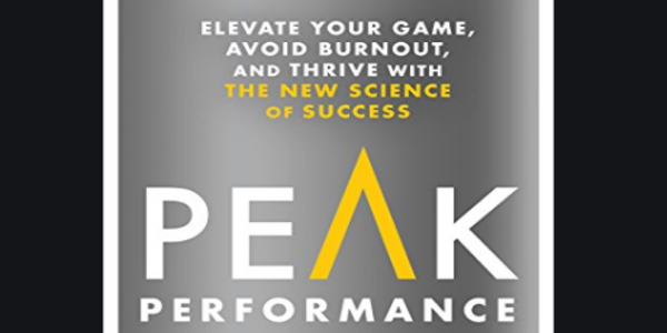 3.2$. Elevate Your Game, Avoid Burnout, and Thrive with the New Science of Success