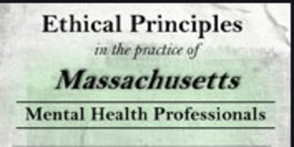 77$. Ethical Principles in the Practice of Massachusetts Mental Health Professionals - Allan M. Tepper