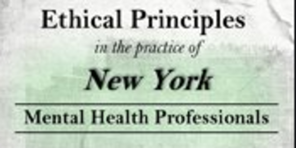 77$. Ethical Principles in the Practice of New York Mental Health Professionals - Allan M. Tepper