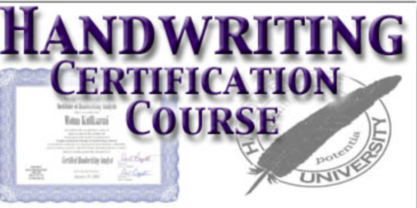197$. Handwriting Analysis Certification Home Study Course – Bart Baggett