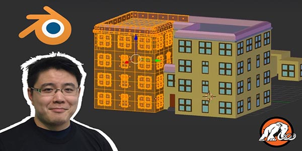 Make Low Poly Apartments in Blender with Micro Blocks! - Mammoth Interactive