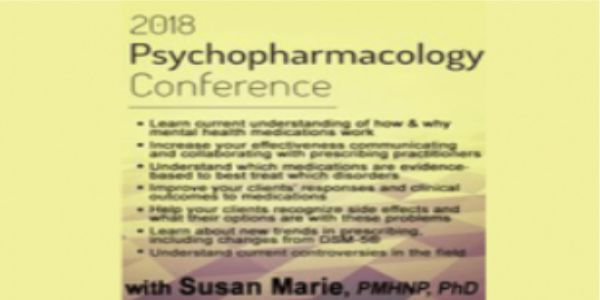 $57 Psychopharmacology Conference - Susan Marie