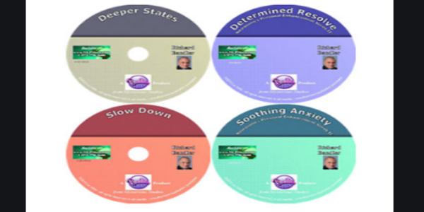 55$. The New Richard Bandler 5 CDs – DeeperState , Determined Resolved ,Slow Down ,Sooting Anxiety & Getting Smarter Series