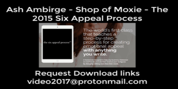 45$. Shop of Moxie – The 2015 Six Appeal Process - Ash Ambirge