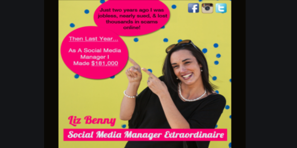 95$. Social Monkey Business Training – Liz Benny