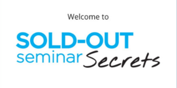 45$. Sold-Out Seminar Secrets