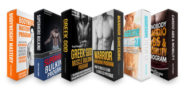 55$. The Complete Kinobody Fitness Bundle - Greg O'Gallagher 01 (1)