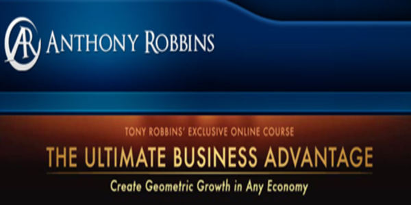 113$. The Ultimate Business Advantage – Anthony Robbins