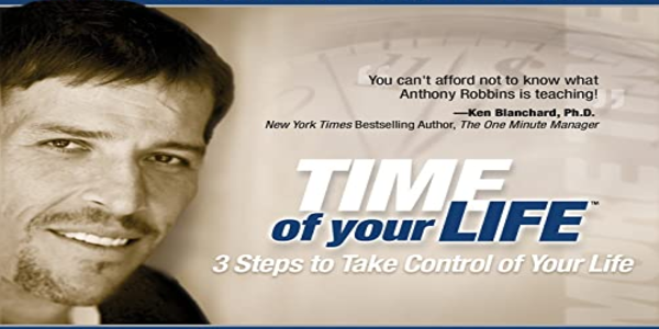 18$. Time of Your Life including RPM – Anthony Robbins