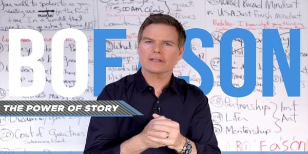 Your powerful personal story - Bo Eason