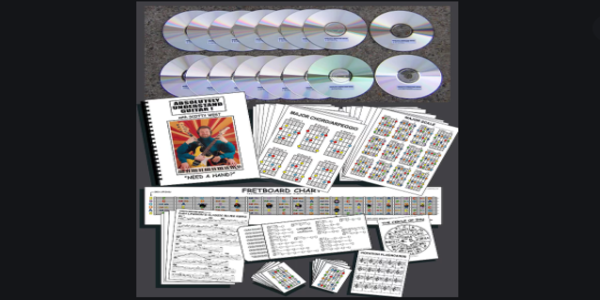 $41. Absolutely Understand Guitar Course DVD - Scotty West