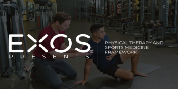 $55. EXOS Presents Physical Therapy and Sports Medicine Framework