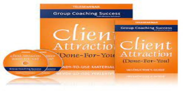 """""""Done-For-You"""" Client-Attraction Teleseminar Package – Michelle Schubnel $79"""