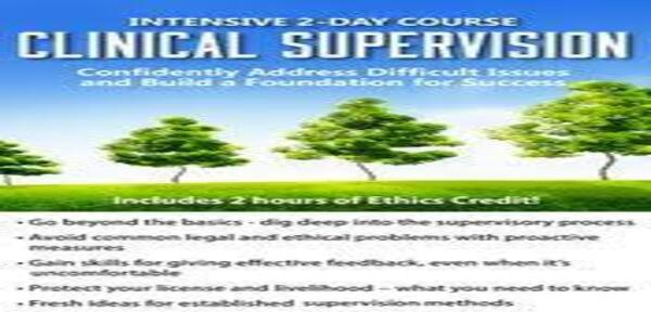 Certificate Course in Clinical Supervision - Confidently Address Difficult Issues and Build a Foundation for Success of author Lois Ehrmann (1)