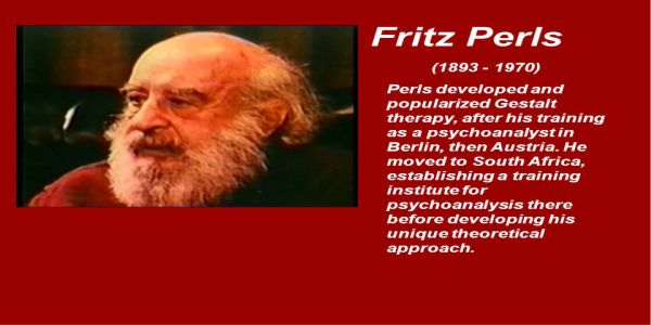 $27 Group therapy - Fritz Perls