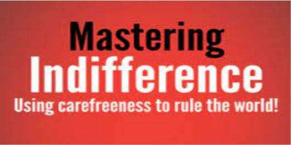$65 Mastering Indifference - Brent Smith & Steve L
