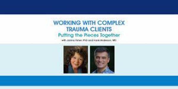 Working with Complex Trauma Clients Putting the Pieces Together - Janina Fisher Frank Anderson (1)