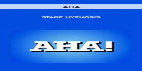 AHA - Stage Hypnosis